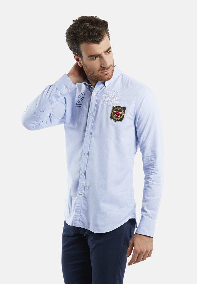 QUETTEUS - Shirt - cornflower blue