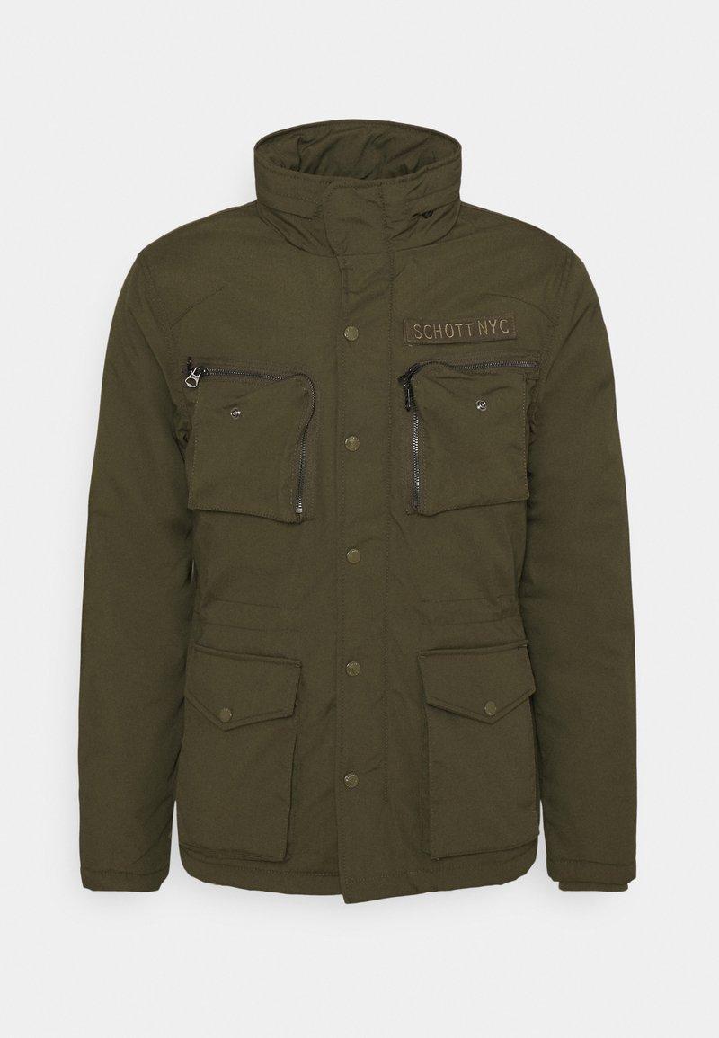 Schott - Winter jacket - khaki
