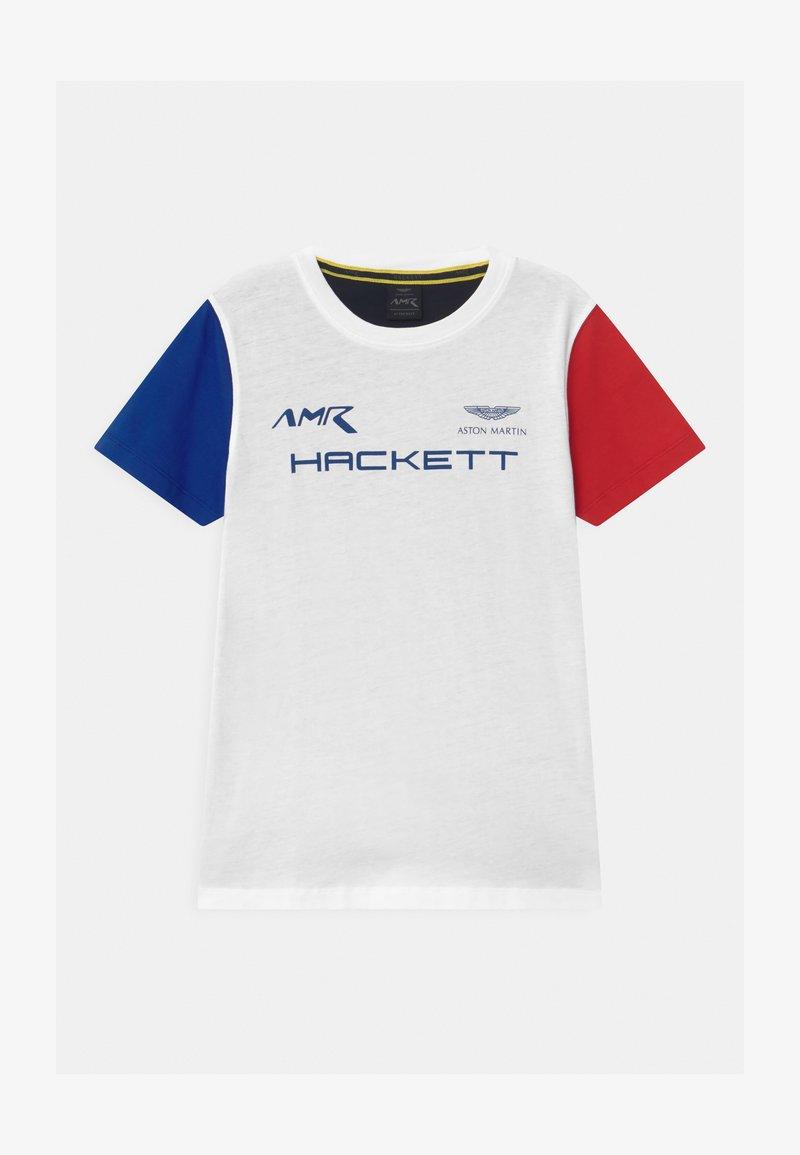 Hackett London - MULTI  - Triko spotiskem - white