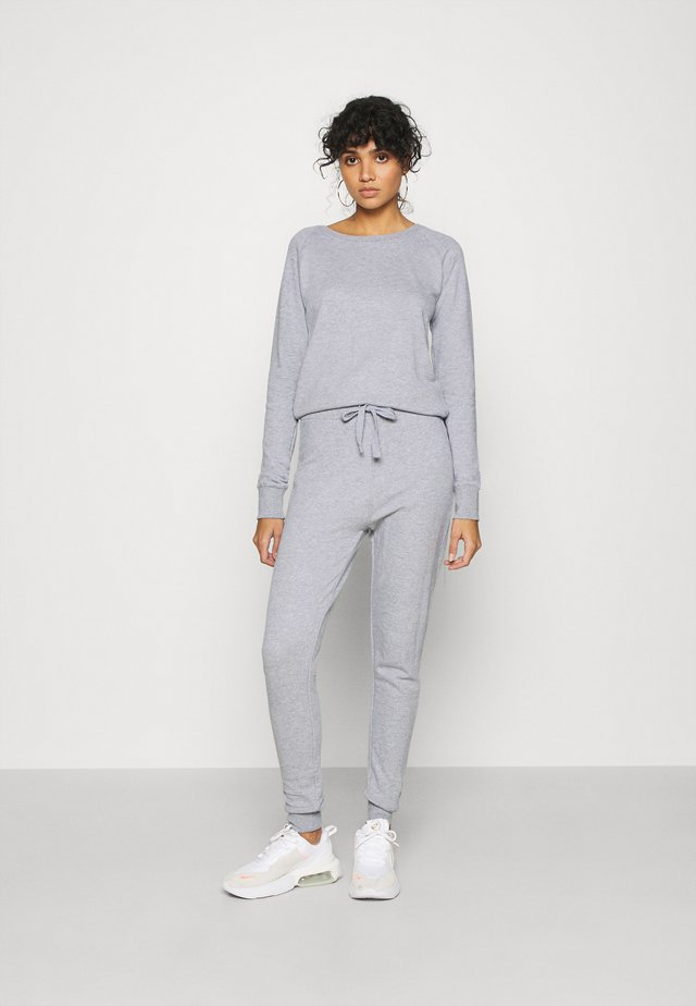 CREW NECK - Tuta jumpsuit - light grey