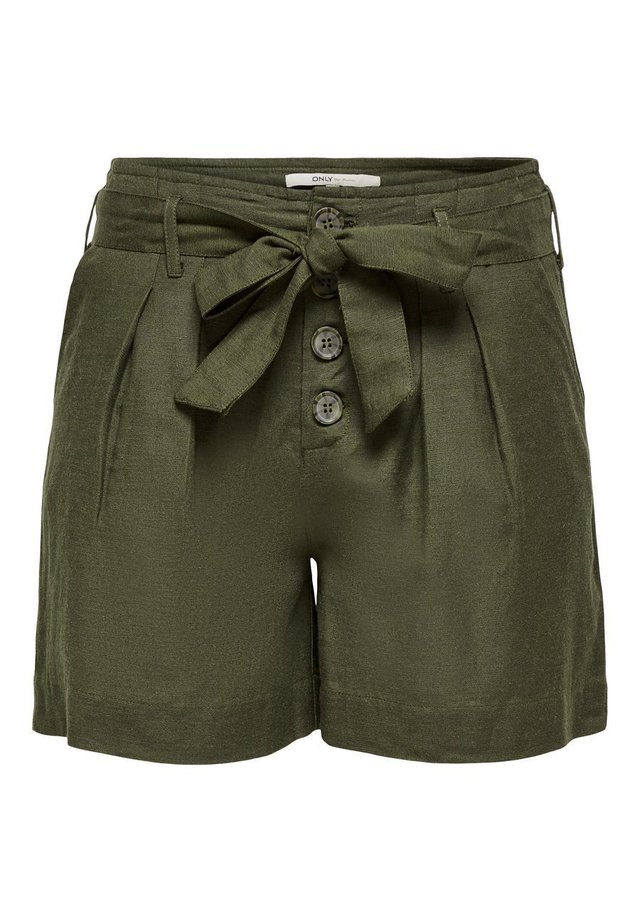 ONLVIVA LIFE BELT - Shorts - forest night