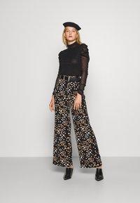 Diane von Furstenberg - NEW REMY - Long sleeved top - black - 1
