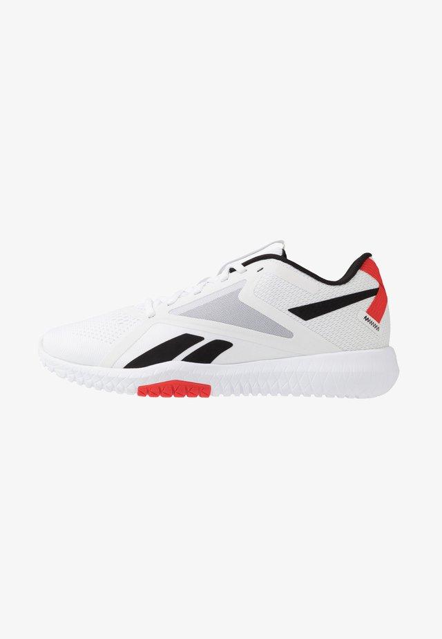 FLEXAGON FORCE 2.0 - Zapatillas de entrenamiento - white/black/red