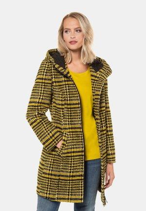 WARME QUALITÄT - Classic coat - senfgelb