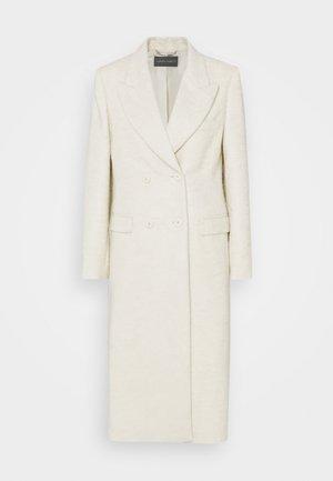 CAPOSPALLA LUNGO - Classic coat - off-white