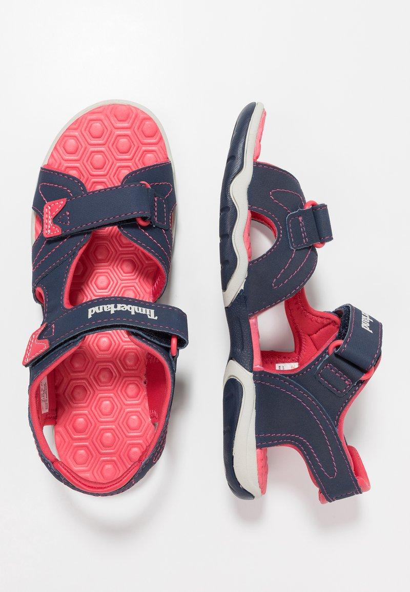 Timberland - ADVENTURE SEEKER 2 STRAP - Walking sandals - navy/pink