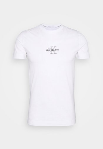 NEW ICONIC ESSENTIAL TEE - T-shirt med print - bright white