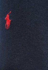 Polo Ralph Lauren - MERCERIZED SOCKS 3 PACK - Strømper - navy - 1