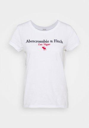 LAS VEGAS DESTINATION - Camiseta estampada - white