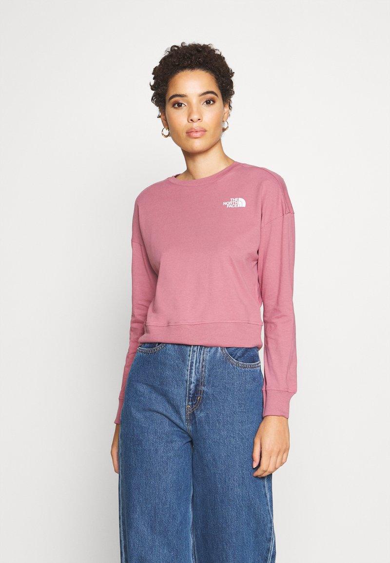 The North Face - ENSEI TEE  - Langærmede T-shirts - mesa rose