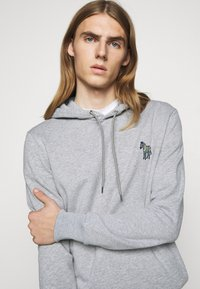 PS Paul Smith - ZEBRA SOPO HOODIE - Hoodie - grey - 3
