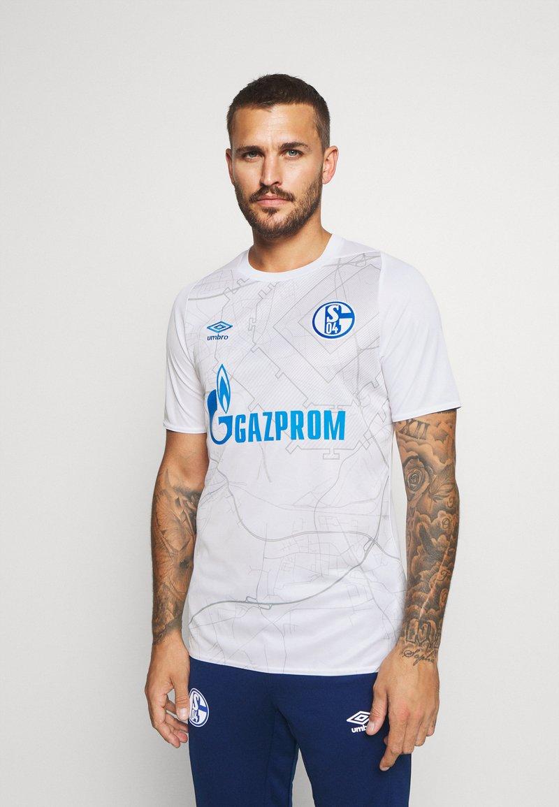 Umbro - FC SCHALKE 04 AWAY - Club wear - brilliant white