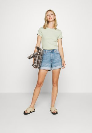 MAGDALENA TEE 2 PACK - Printtipaita - green dusty light/black