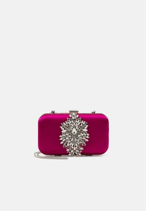 MILA EMBELISHED - Clutch - hot pink