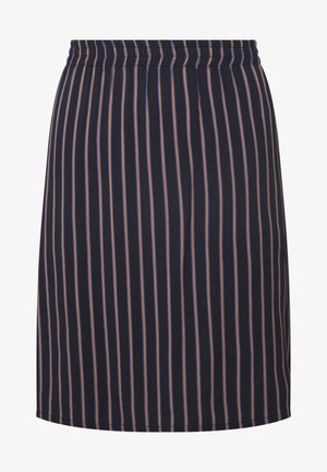 SKIRT WITH BOLD STRIPES - Áčková sukně - summer night