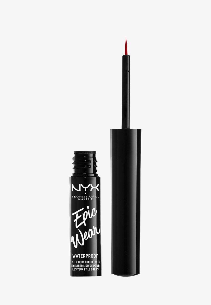 Nyx Professional Makeup - EYELINER SLIDE ON PENCIL - Eyeliner - red