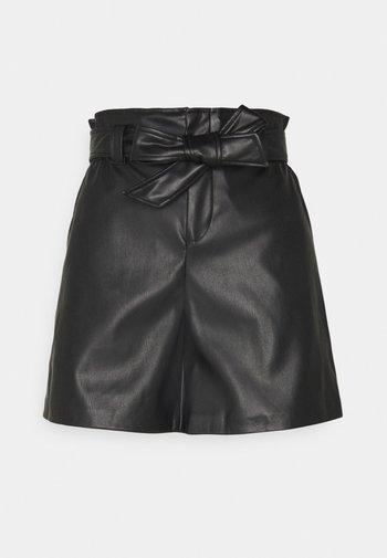 ONLDEE FAUX - Shorts - black