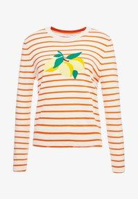 CHINTI & PARKER - LEMON - Neule - cream/true orange/multi - 3