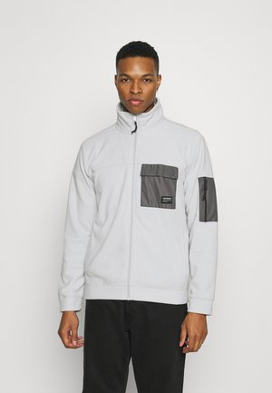 MALCOM CONTRAST POCKETS - Fleece jacket - smog
