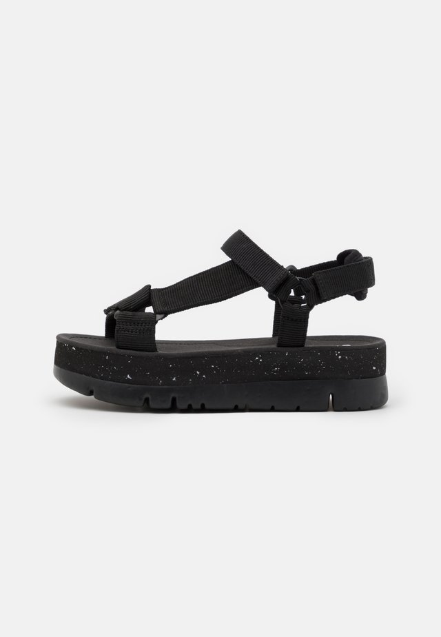 ORUGA UP - Plateausandalette - black
