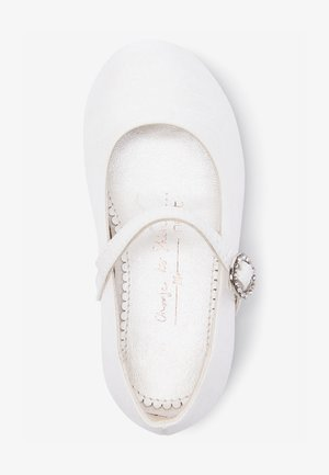 MARY JANE  - Ankle strap ballet pumps - off white