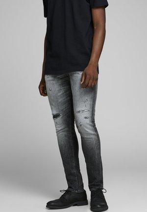 GLENN ROYAL R216 RDD LTD - Slim fit jeans - black denim