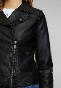 edc by Esprit - Faux leather jacket - black - 4