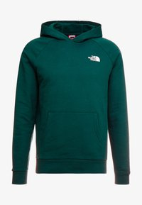 The North Face - REDBOX HOODIE - Mikina s kapucí - night green - 5