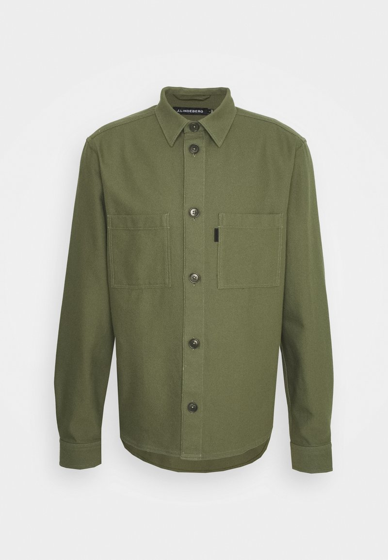 J.LINDEBERG - STRUCTURED  - Summer jacket - lake green