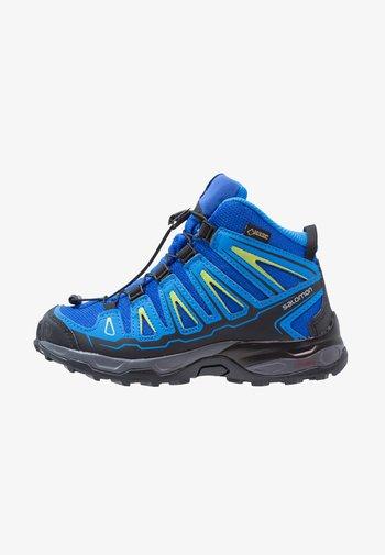 X-ULTRA MID GTX - Hiking shoes - bleu/noir