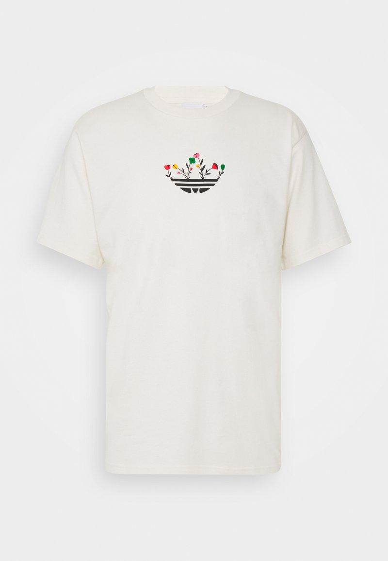 adidas Originals - TREFOIL BLOOM GRAPHICS - T-shirt imprimé - non-dyed