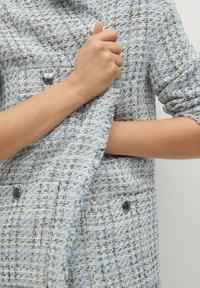 Mango - MIT TASCHEN - Summer jacket - himmelblau - 4
