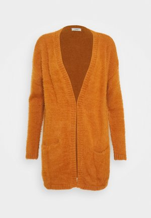JDYPLEXI CARDIGAN - Cardigan - leather brown