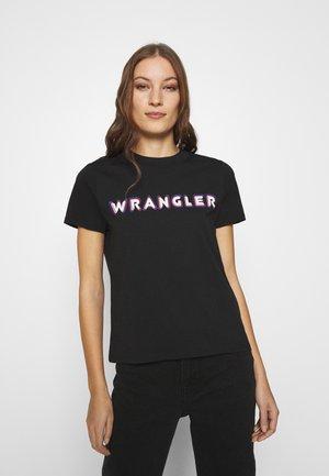 HIGH REGULAR TEE - T-shirts med print - black