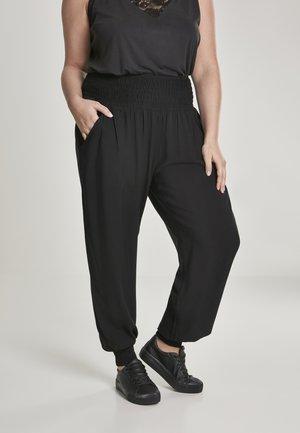 SARONG - Trousers - black