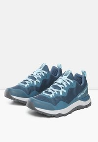 The North Face - W ACTIVIST FUTURELIGHT - Hiking shoes - mallardblue/starlightblue - 6