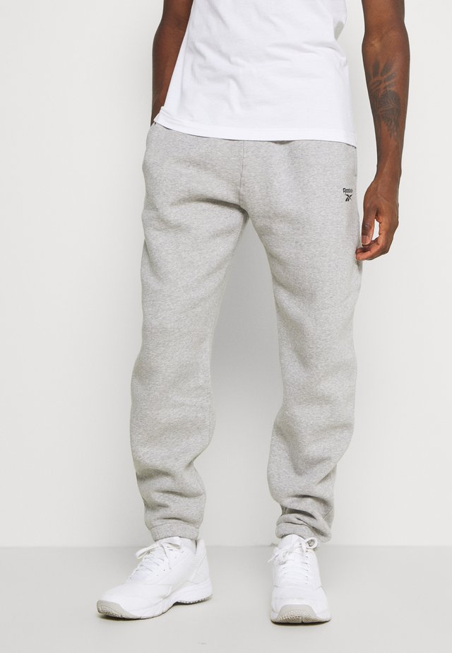 CUFFED PANT - Pantaloni sportivi - medium grey heather