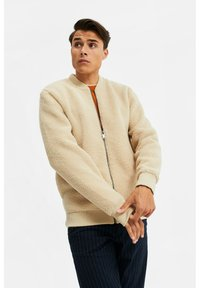 WE Fashion - Fleece jacket - beige - 3