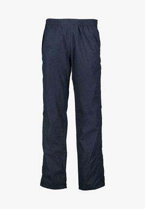 Trousers - black blue