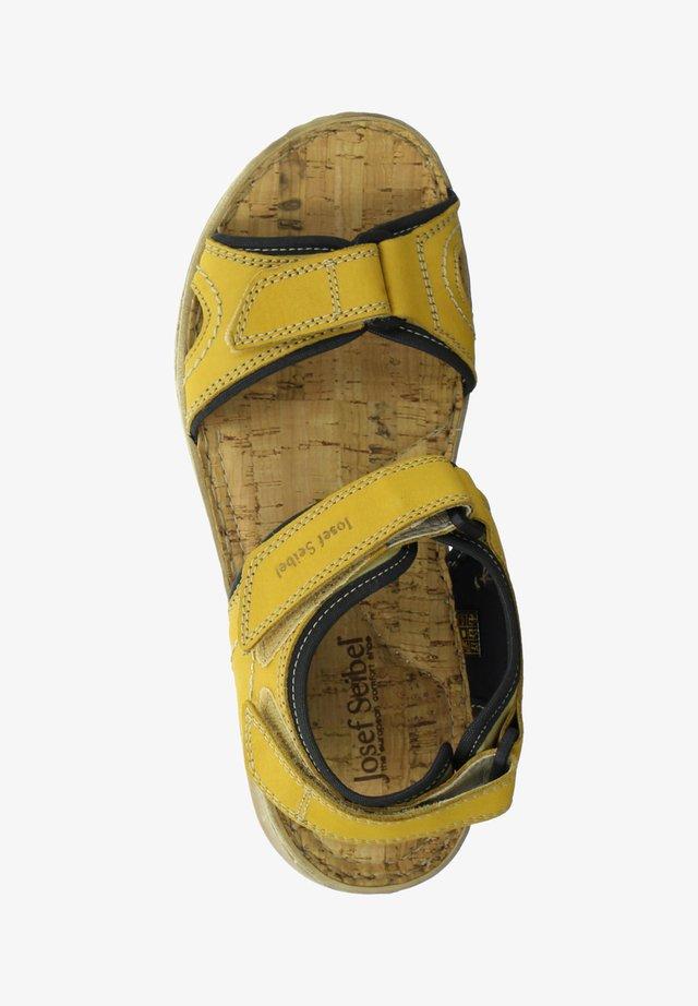 Walking sandals - gelb