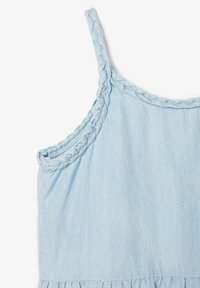 Name it - MEHRFARBIGES - Sukienka jeansowa - light blue denim - 3