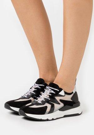 KICK - Trainers - schwarz/silver