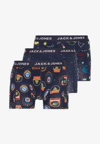 Jack & Jones - SPACE TRUNK 3 PACK - Underkläder - dark blue/multi coloured - 3