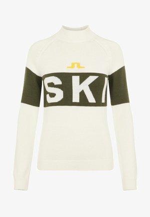 ALVA SKI - Pullover - thyme green