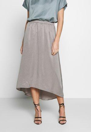 RAHEL - A-line skirt - silver