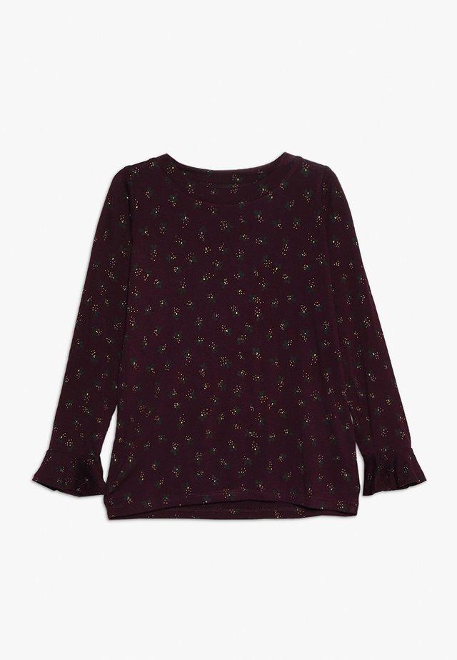 ELIA - Camiseta de manga larga - bordeaux
