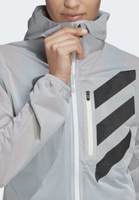 adidas Performance - AGRAVIC RAIN.RDY TRAIL RUNNING - Sports jacket - white - 5