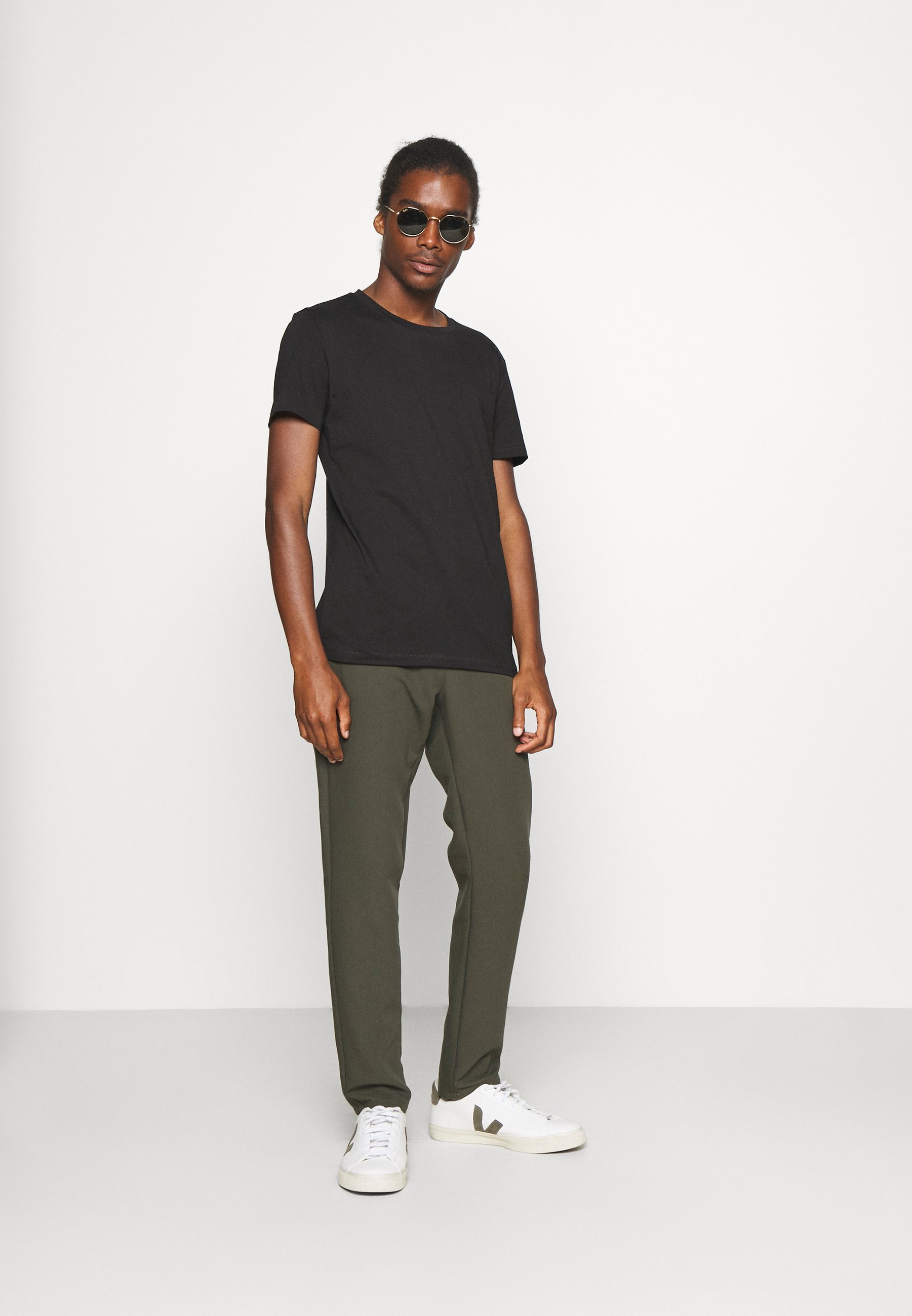 Homme DOUBLE PACKCREW NECK 2 PACK - T-shirt basique