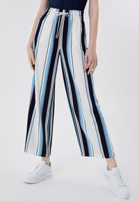 LIU JO - Trousers - stripes/blue - 0
