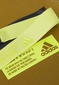 adidas Performance - FAV DUFFEL BAG - Sports bag - wild moss/acid yellow - 5